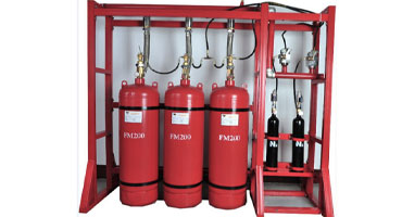 FM 200 Gas fire Suppression system supplier in bangladesh